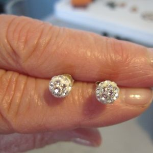 Unknown Jewelry - Costume jewelry:  two pair earrings
